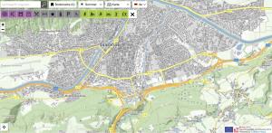 Statdplan Innsbruck